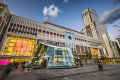 Sapporo Station, Japan Stock Photos