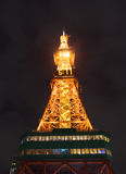 Sapporo TV Tower at night Royalty Free Stock Photography