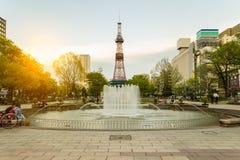 Sapporo TV Tower in Sapporo, Hokkaido, Japan Royalty Free Stock Photography