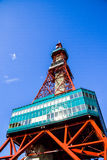 Sapporo TV Tower in Sapporo Japan Royalty Free Stock Photography