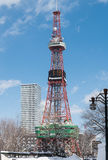 Sapporo TV Tower Royalty Free Stock Photography