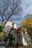 Sapporo Zegarowy wierza w jesieni Obrazy Royalty Free