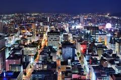 Sapporo-Zentralbezirk Stockbilder