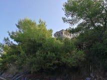Sapri, Torre - Capobianco od Å›ladu zdjęcie royalty free