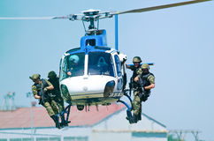 SAPS Eurocopter AS350 Royalty Free Stock Photos