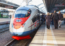 Sapsan train Royalty Free Stock Images