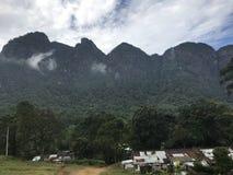 Sapthakanya berg i Sri Lanka Arkivfoton