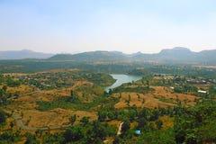 Saputara, un punto turístico en Gujarat la India imágenes de archivo libres de regalías