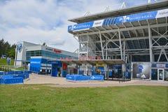 Saputo stadion fotografering för bildbyråer