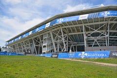 Saputo stadion arkivbilder