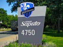 The Saputo Stadium Of Montreal Impact Canada Stock Photography