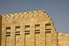 Saqqara. Details of Egyptian art. An example of the art of the pharaohs Royalty Free Stock Photography