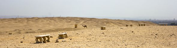 Saqqara Desert Royalty Free Stock Photo
