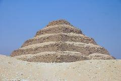 Saqqara egiptu Obraz Royalty Free