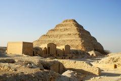 Saqqara Egito Foto de Stock