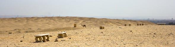 Saqqara-Wüste Lizenzfreies Stockfoto