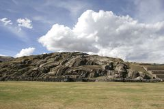 The Saqsaywaman archaeological complex, Peru Stock Image