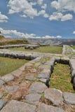 Saqsaywaman archaeological inca site. Cusco. Peru Stock Photo