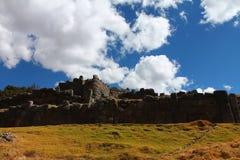 Saqsaywaman archeologische plaats Royalty-vrije Stock Afbeelding