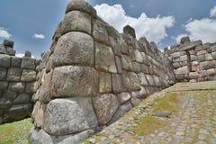 Saqsaywaman inca site. Cusco. Peru Royalty Free Stock Images