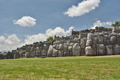 Saqsaywaman inca site. Cusco. Peru Stock Photo