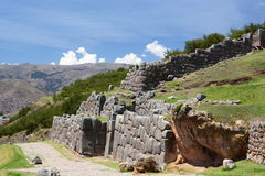 Saqsaywaman inca site. Cusco. Peru Stock Images