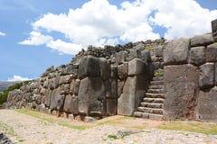 Saqsaywaman inca site. Cusco. Peru Stock Image