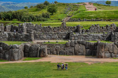 Saqsaywaman Incas ruins near Cusco, Peru Stock Images