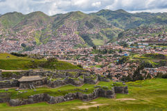 Saqsaywaman Incas ruins near Cusco, Peru Royalty Free Stock Image