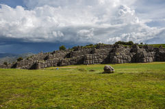 Saqsaywaman Incas ruins near Cusco, Peru Stock Photos