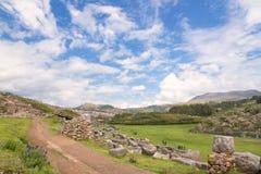 Saqsaywaman, Peru de Cusco Imagem de Stock