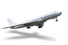 Saque el aeroplano Fotografía de archivo libre de regalías