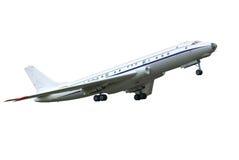 Saque el aeroplano Imagen de archivo libre de regalías
