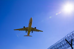 Saque el vuelo imagen de archivo libre de regalías