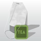 Saquinho de chá do vetor Imagens de Stock