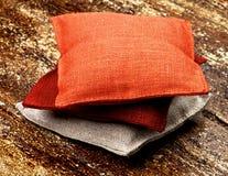 Saquinho de matéria têxtil Fotografia de Stock Royalty Free