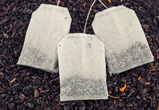 Saquinhos de chá Imagens de Stock Royalty Free