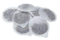 Saquinhos de chá redondos Imagens de Stock