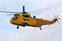 SAR force rescue helicopter Stock Image