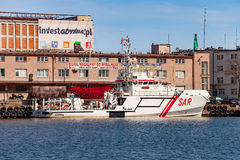 SAR - rescue boat Stock Image