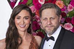 Sara Bareilles und Joe Tippett bei Tony Awards 2018 Stockfoto