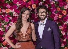 Sara Bareilles und Josh Groban bei Tony Awards 2018 Stockfotografie