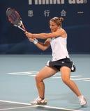 Sara Errani (AIS), giocatore di tennis professionale immagine stock libera da diritti