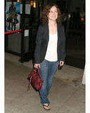 "Sara Gilbert. ""How to Go On a Date In Queens"" LA Screening Laemmle's Music Hall Beverly Hills, Ca July 28, 2006 Royalty Free Stock Photo"