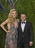 Sara Mearns et Joshua Bergasse Arrive chez Tony Awards 2015 Photographie stock