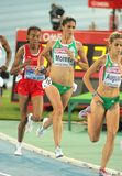 Sara Moreira of Portugal. During 5000m women Final of the 20th European Athletics Championships at the Olympic Stadium on August 1, 2010 in Barcelona, Spain Stock Photo