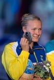 Sara Sjostrom (Szwecja) fotografia royalty free