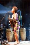 Sara Tavares Foto de archivo libre de regalías