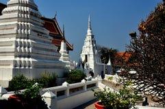 Saraburi, Tailândia: Wat Phra Phutthabat foto de stock