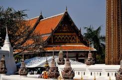 Saraburi, Thailand: Wat Phra Phutthabat royalty-vrije stock afbeeldingen